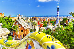 Gorgeous and amazing Park Guel. Stock Image