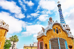 Gorgeous and amazing Park Guel. Royalty Free Stock Images
