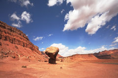 Gorgeous American Red Desert Stock Photo
