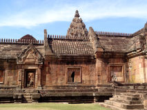 Gorgeous Ancient Khmer Temple, Prasat Hin Phanom Rung in Buriram Province Stock Photo