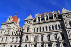 Gorgeous architecture of Albany Capitol Building open to public tours,Fall,2013 Stock Image