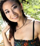 Gorgeous asian/chinese girl smiling Stock Photos