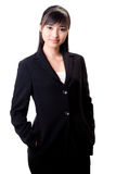 Gorgeous asian female executive stock image