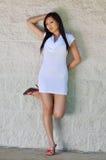 Gorgeous Asian Girl posing Stock Image