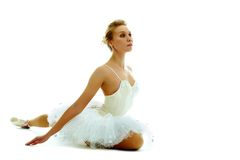 Gorgeous ballerina Stock Photo