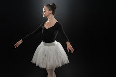 Gorgeous Ballerina In Action Stock Images