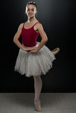 Gorgeous Ballerina In Action Royalty Free Stock Images