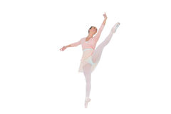 Gorgeous ballerina dancing Royalty Free Stock Photo