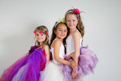 Gorgeous ballet dancers. Royalty Free Stock Photography