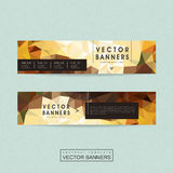 Gorgeous banner template set design Royalty Free Stock Photography