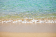 Gorgeous Beach In Summertime Royalty Free Stock Image