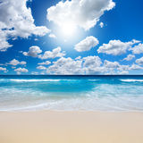 Gorgeous Beach Landscape Stock Image