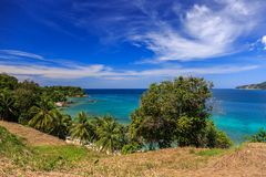 Gorgeous Beach at Phuket, Thailand Royalty Free Stock Image