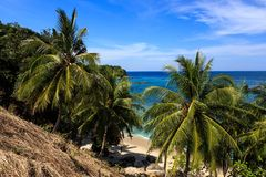 Gorgeous Beach at Phuket, Thailand Royalty Free Stock Images
