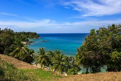 Gorgeous Beach at Phuket, Thailand Stock Photos