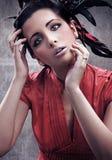 Gorgeous beauty portrait Stock Images
