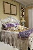 Gorgeous bedding Royalty Free Stock Photos