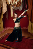 Gorgeous Belly Dancer Royalty Free Stock Photos