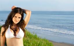 Gorgeous bikini model Stock Photography
