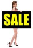 Gorgeous Billboard Model Royalty Free Stock Image