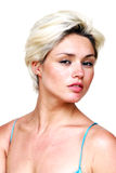 Gorgeous blond female Stock Images