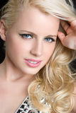 Gorgeous Blond Girl Stock Images