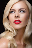 Gorgeous blond Stock Images