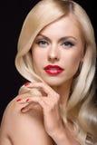 Gorgeous blond Stock Photo