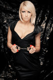 Gorgeous blond woman Stock Photos