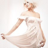 Gorgeous blond woman Royalty Free Stock Images