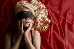 Gorgeous blonde Royalty Free Stock Photography