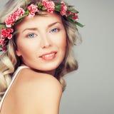 Gorgeous Blonde Fashion Model Royalty Free Stock Photos