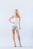 Gorgeous blonde Stock Photos