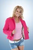 Gorgeous blonde woman Stock Photos