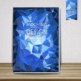 Gorgeous book cover template design Stock Photography