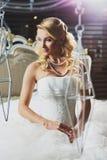Gorgeous bride royalty free stock photos