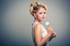 Gorgeous bride on her wedding day Stock Photo