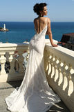 Gorgeous bride in luxurious wedding dress stock photography