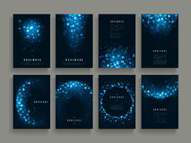Gorgeous brochure template Stock Image
