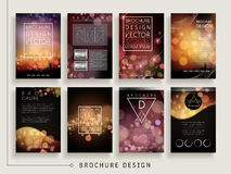 Gorgeous brochure template Stock Photo