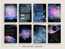 Gorgeous brochure template Stock Images