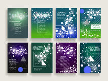 Gorgeous brochure template Royalty Free Stock Photography