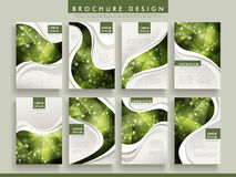 Gorgeous brochure template Stock Photos