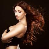 Gorgeous brunette Stock Image