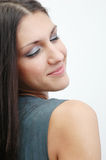 Gorgeous brunette 6 royalty free stock photo