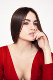 Gorgeous brunette beauty Royalty Free Stock Photo