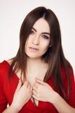 Gorgeous brunette beauty Stock Image
