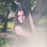 Gorgeous brunette Royalty Free Stock Images
