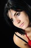 Gorgeous brunette girl Stock Images