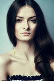 Gorgeous brunette portrait Stock Photo